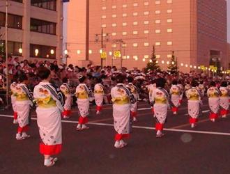 東北三大祭り「竿灯まつり」