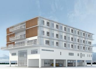 新しい校舎&宿舎