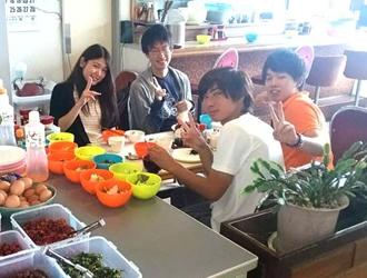 教習所内の食堂