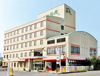 ホテル西尾の外観