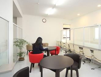女性専用の待合室