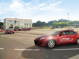 教習車と教習コース