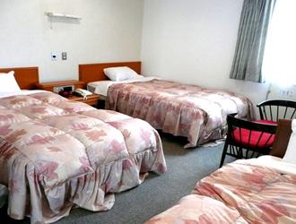 米沢パークホテルのトリプルルーム