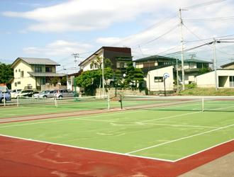 無料のテニスコート